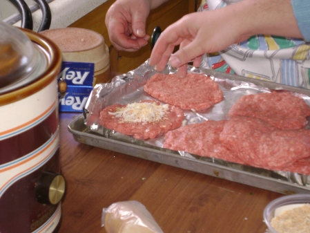 Making Bauer Burgers