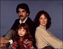 The Thorpe Family 1979 - Roger, Chrissy (Blake), Holly