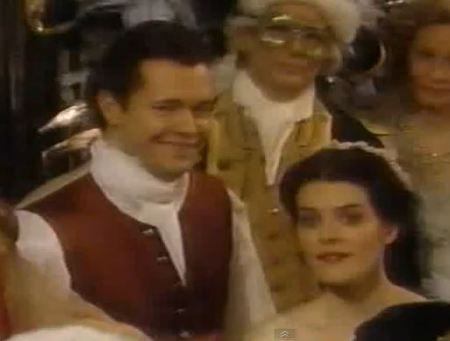 Rick and Abby at NYE Ball 1995