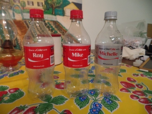 Ray Mike Michelle Bottles