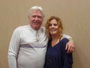 Two person shot of Jerry verDorn and Liz Keifer