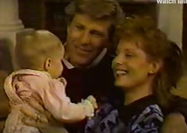 Baby Michelle, Ed, and Maureen